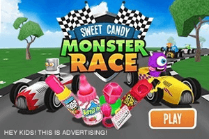 Sweet Candy Monster Race