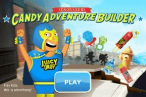 Senor Sour's Candy Adventure Builder