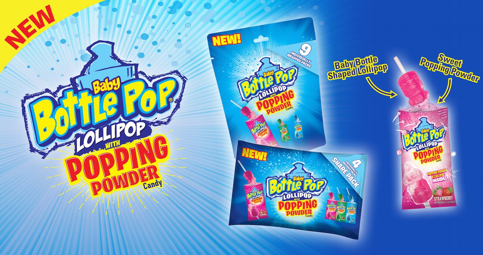 baby bottle pop candy game