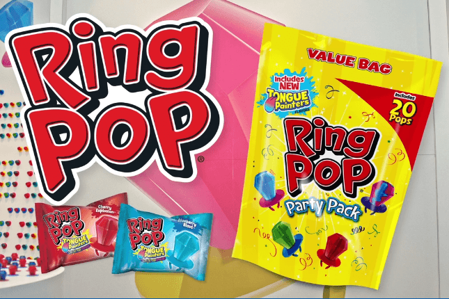 Ring Pop Tongue Painters Twinning Commercial