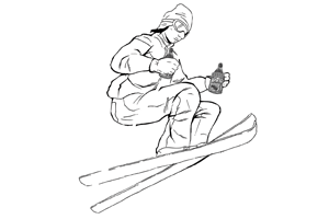 Printable Recess Accessories – Extreme Skier