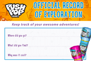 The Push Pop Official Record of Exploration