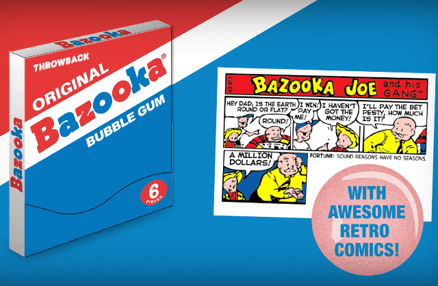 Bazooka Throwback