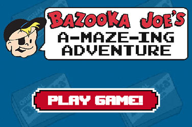 Bazooka Joe A-MAZE-ING Adventure