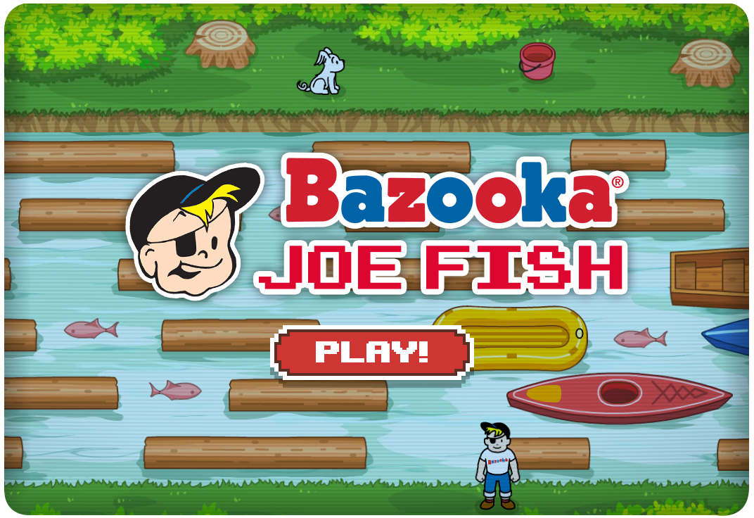 Bazooka Joe Fish