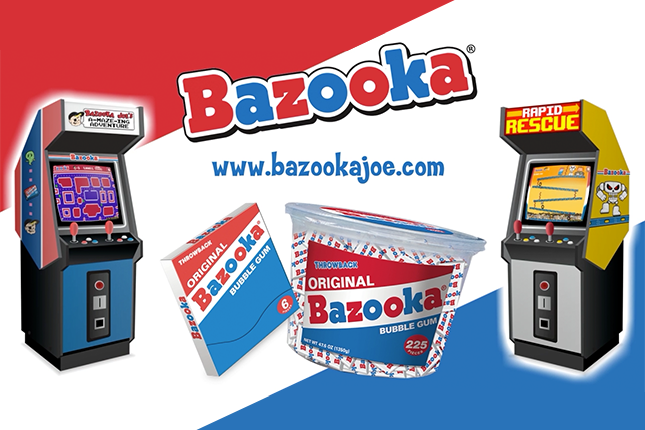 Bazooka Joe Arcade Trailer